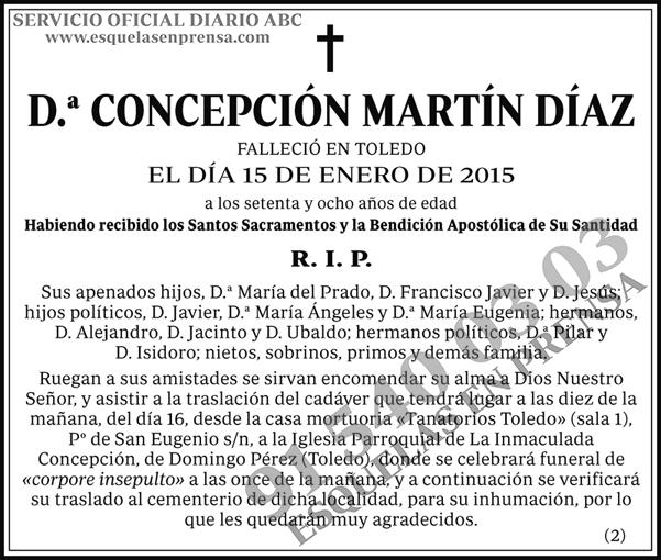 Concepción Martín Díaz